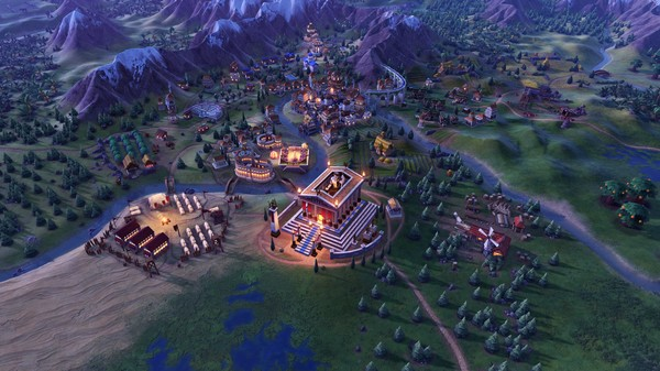 Скриншот №6 к Sid Meiers Civilization® VI Byzantium  Gaul Pack