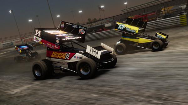 Скриншот №4 к Tony Stewarts Sprint Car Racing - Knoxville Raceway Unlock_Knoxville