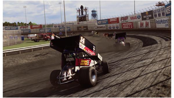Скриншот №3 к Tony Stewarts Sprint Car Racing - Knoxville Raceway Unlock_Knoxville