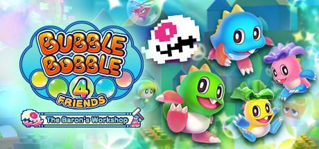 Bubble Bobble 4 Friends: The Baron is Back! Cover Image