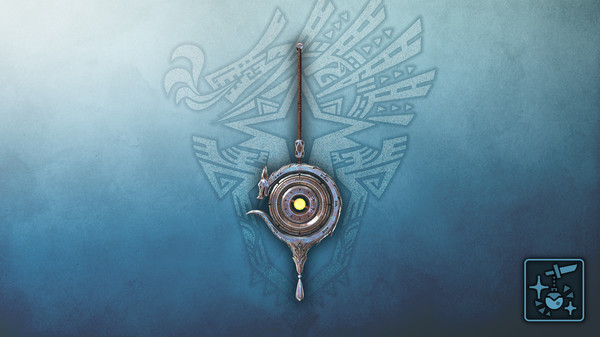 Скриншот №1 к Monster Hunter World Iceborne - Кулон серебряный небесный дракон