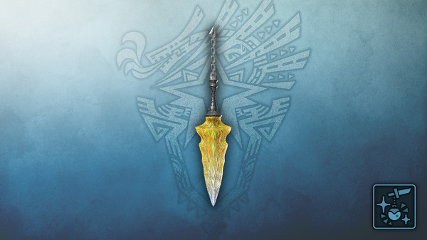 Скриншот №1 к Monster Hunter World Iceborne - Кулон нож из янтарного кристалла