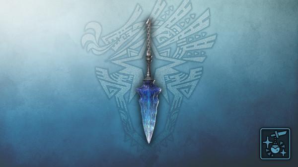 Скриншот №1 к Monster Hunter World Iceborne - Кулон нож из лазурного кристалла