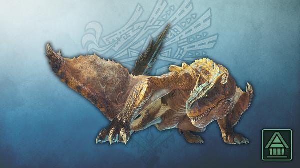 Скриншот №1 к Monster Hunter World Iceborne - Фигурка чудовища MHWI тигрекс