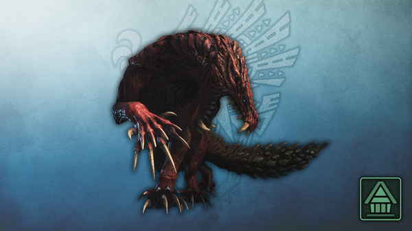 Скриншот №1 к Monster Hunter World Iceborne - Фигурка чудовища MHWI одогарон
