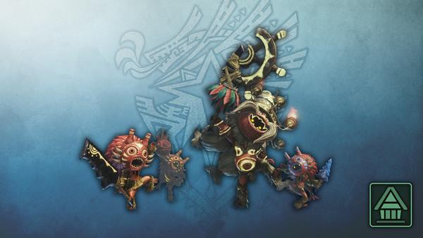 Скриншот №1 к Monster Hunter World Iceborne - Фигурка чудовища MHWI гаялака и королевский гаялака
