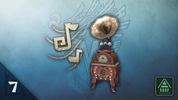 Скриншот №1 к Monster Hunter World Iceborne - Проигрыватель MHWI Набор доп. фоновой музыки ч. 7