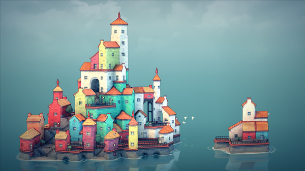Скриншот №1 к Townscaper