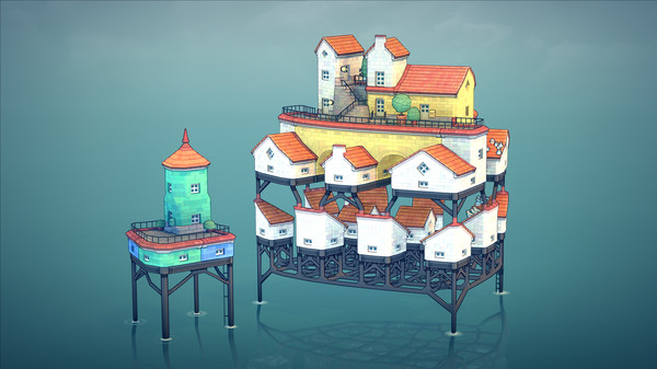 Скриншот №4 к Townscaper