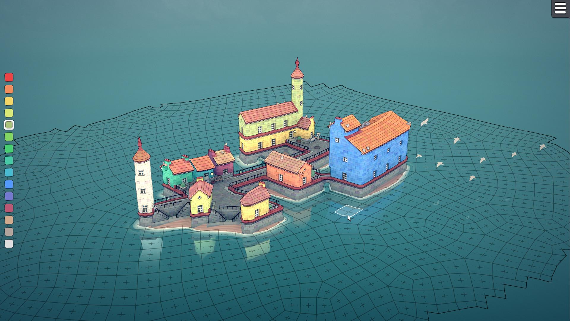Townscraper - Top underappreciated indie games of 2020