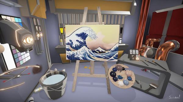 SuchArt: Genius Artist Simulator Screenshot 1