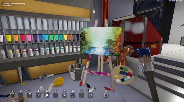 SuchArt: Genius Artist Simulator Screenshot 8