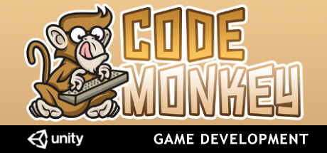 Learn Game Development, Unity Code Monkey Cover Image