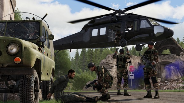 Скриншот №4 к Arma 3 Creator DLC CSLA Iron Curtain