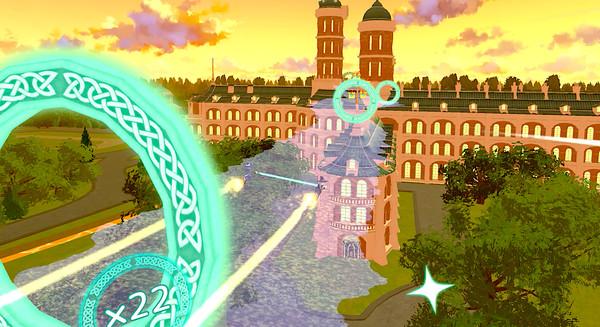 Little Witch Academia: VR Broom Racing Screenshot 4