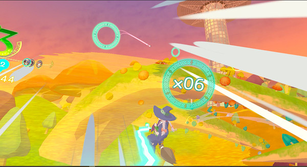 Little Witch Academia: VR Broom Racing Screenshot 8