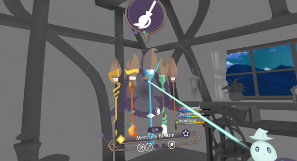 Little Witch Academia: VR Broom Racing Screenshot 9