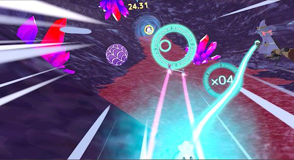 Little Witch Academia: VR Broom Racing Screenshot 2