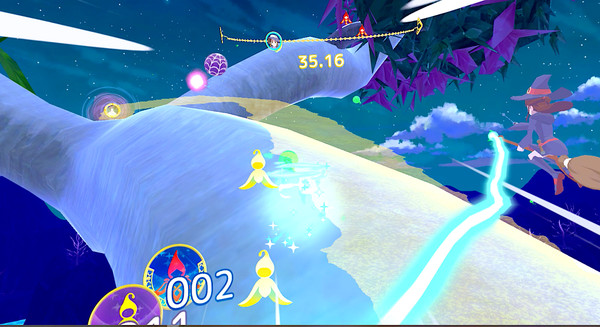Little Witch Academia: VR Broom Racing Screenshot 3