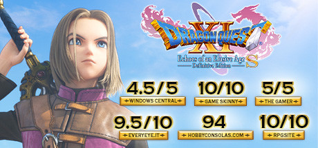 DRAGON QUEST® XI S: Echoes of an Elusive Age™ - Definitive Edition Cover Image