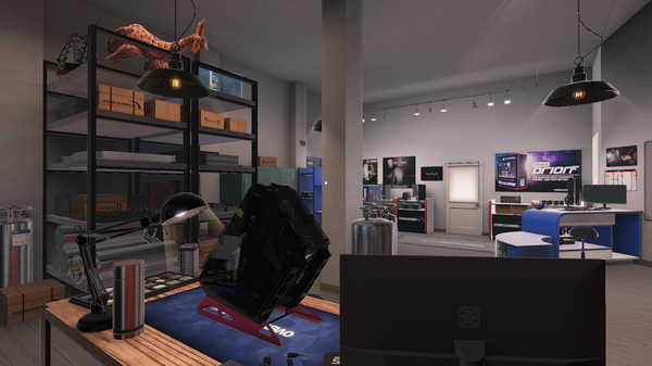 Скриншот №6 к PC Building Simulator - Overclockers UK Workshop