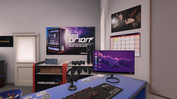Скриншот №4 к PC Building Simulator - Overclockers UK Workshop