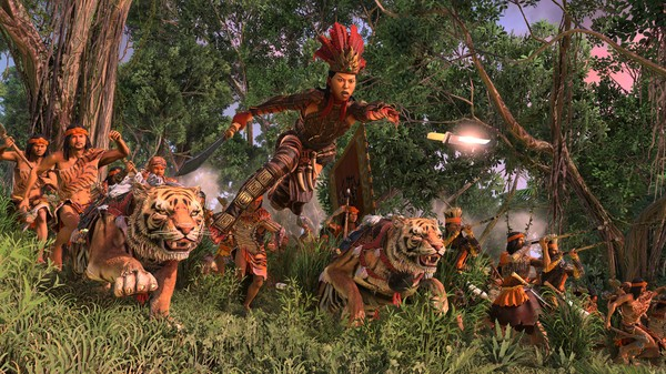 скриншот Total War: THREE KINGDOMS - The Furious Wild 5