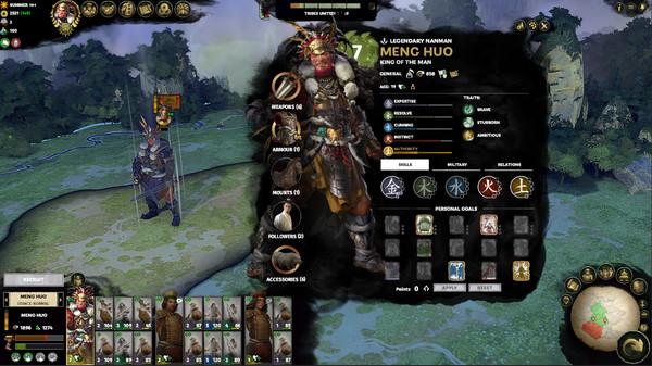 скриншот Total War: THREE KINGDOMS - The Furious Wild 1
