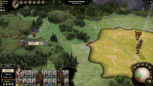 скриншот Total War: THREE KINGDOMS - The Furious Wild 3