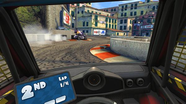 Screenshot of Mini Motor Racing X
