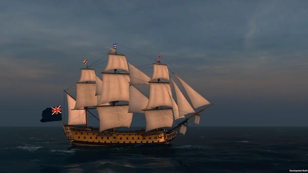 Скриншот №8 к Naval Action - HMS Victory 1765