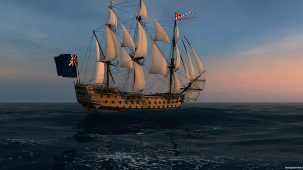 Скриншот №6 к Naval Action - HMS Victory 1765