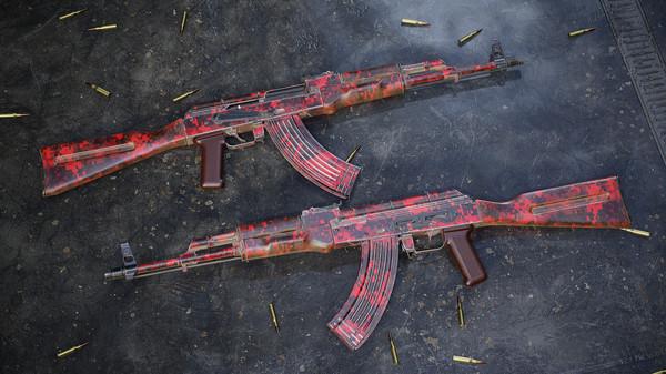 Скриншот №2 к Insurgency Sandstorm - Red Dark Weapon Skin Set