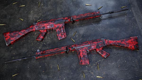 Скриншот №3 к Insurgency Sandstorm - Red Dark Weapon Skin Set