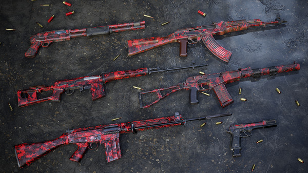 Скриншот №1 к Insurgency Sandstorm - Red Dark Weapon Skin Set