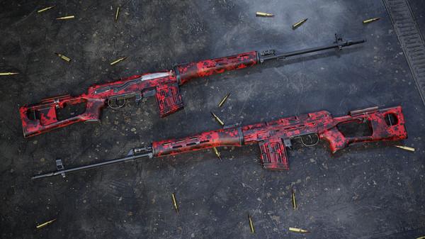 Скриншот №5 к Insurgency Sandstorm - Red Dark Weapon Skin Set