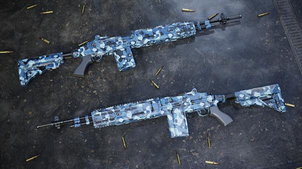 Скриншот №5 к Insurgency Sandstorm - Midnight Blue Weapon Skin Set