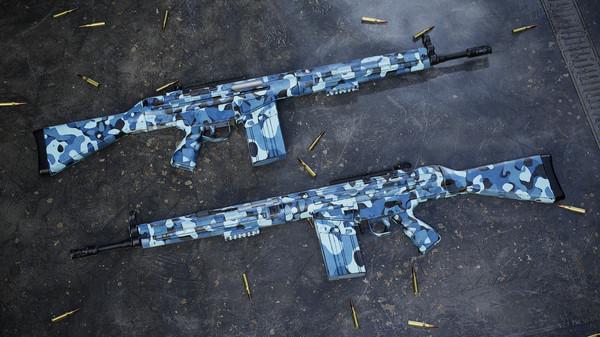 Скриншот №3 к Insurgency Sandstorm - Midnight Blue Weapon Skin Set