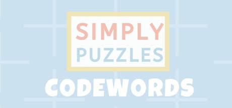 Simply Puzzles: Codewords Cover Image