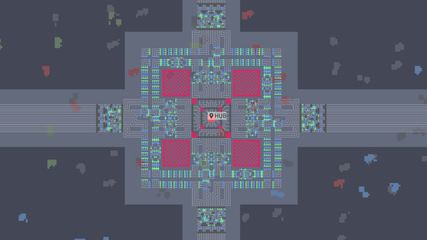 Скриншот №7 к shapez.io