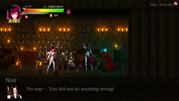 Guilty Hell: White Goddess and the City of Zombies screenshot
