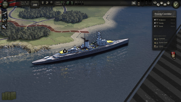 Скриншот №8 к Unity of Command II - Blitzkrieg