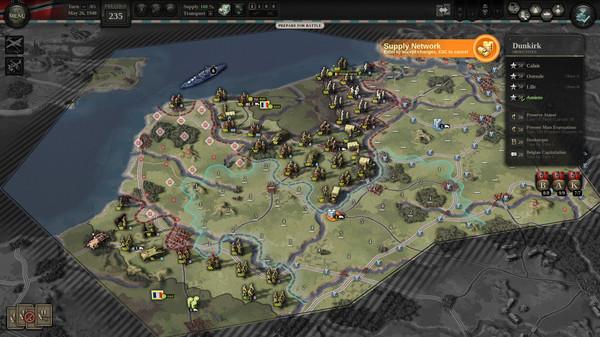 Скриншот №3 к Unity of Command II - Blitzkrieg