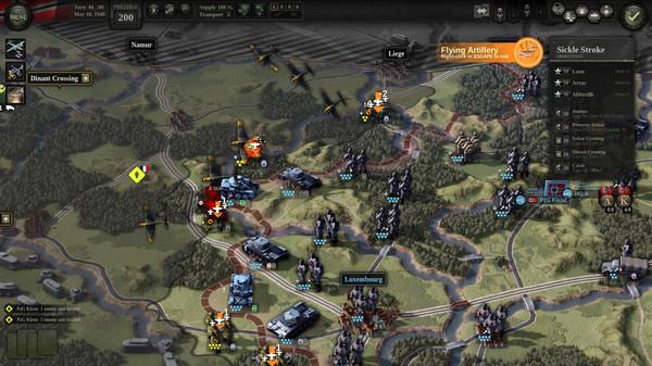 Скриншот №1 к Unity of Command II - Blitzkrieg