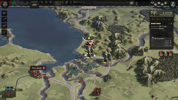 Скриншот №2 к Unity of Command II - Blitzkrieg