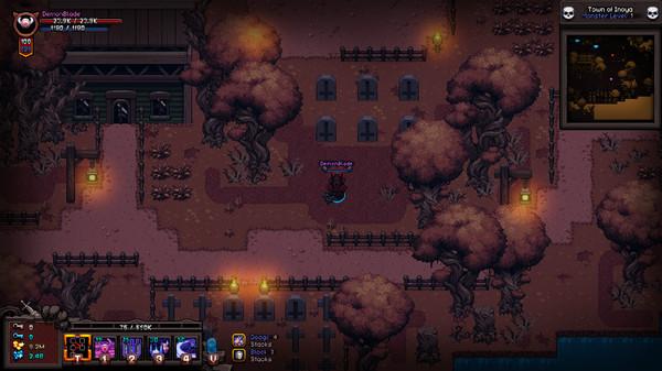 Скриншот №1 к Hero Siege - Demonblade Skin