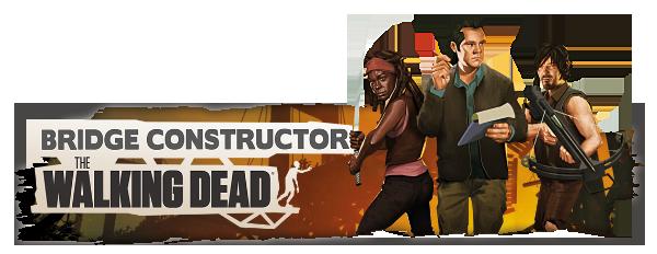 Bridge Constructor: The Walking Dead Ücretsiz Oldu! – bridge constructor the walking dead steam banner logo characters