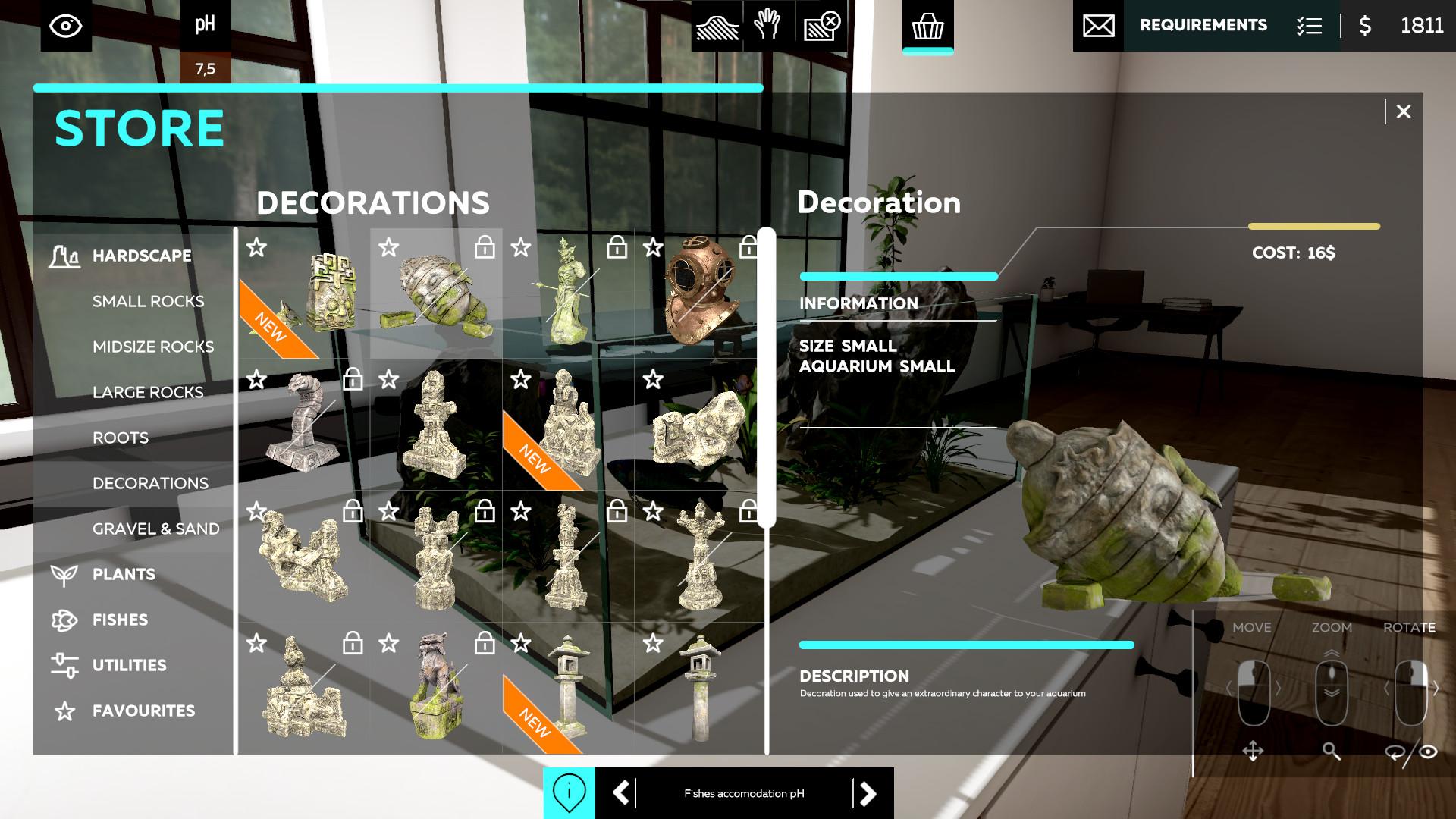轻松模拟游戏《水族箱设计师》将于10月21日发售插图9