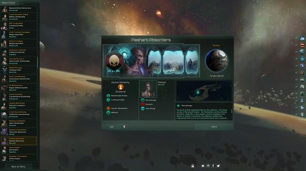 Скриншот №3 к Stellaris Necroids Species Pack