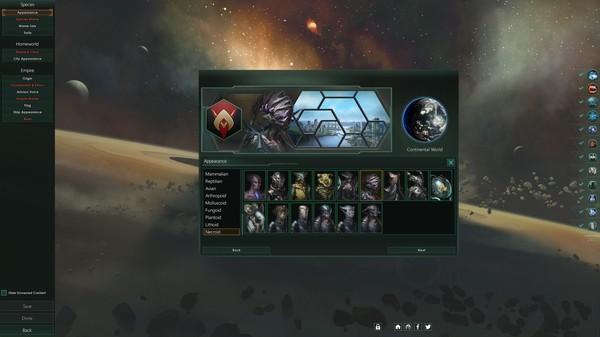 Скриншот №1 к Stellaris Necroids Species Pack